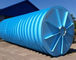 Противопожарный подземный резервуар на 35 кубов производство AlePlast